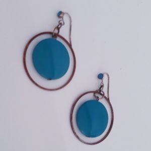 Mod  Dangle Earrings